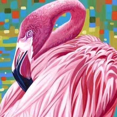 Tropical Birds - Tile 1